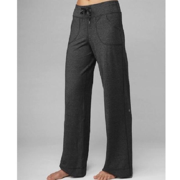 1ccf1ad5a lululemon athletica Pants - Lululemon Be Still Wide Leg Pants in Heather  Grey